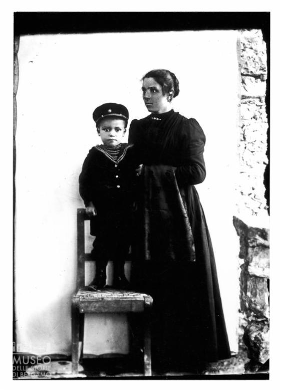 Ritratto di donna con bambino