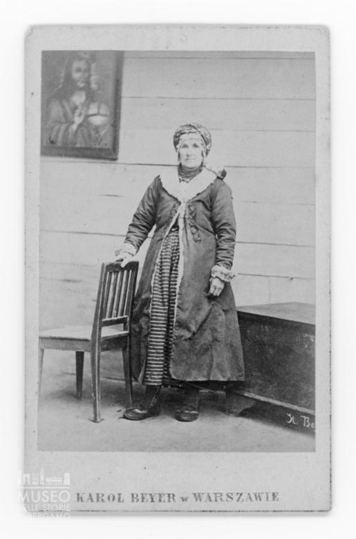 Ritratto di donna anziana polacca