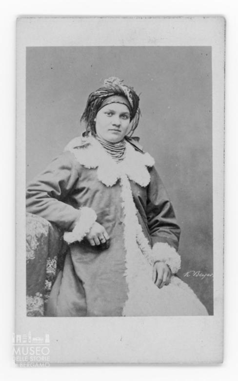 Ritratto di giovane donna polacca