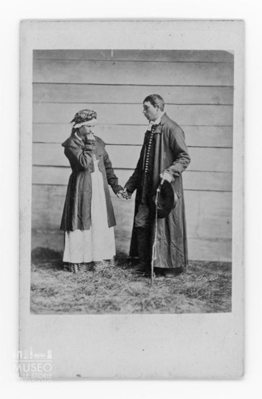 Ritratto di giovane coppia polacca