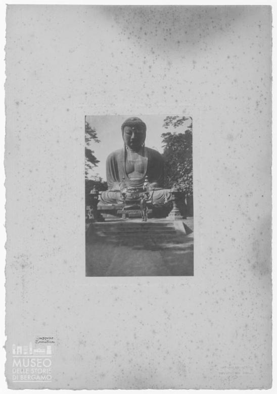 Giappone. Kamakura, il grande Budda in bronzo