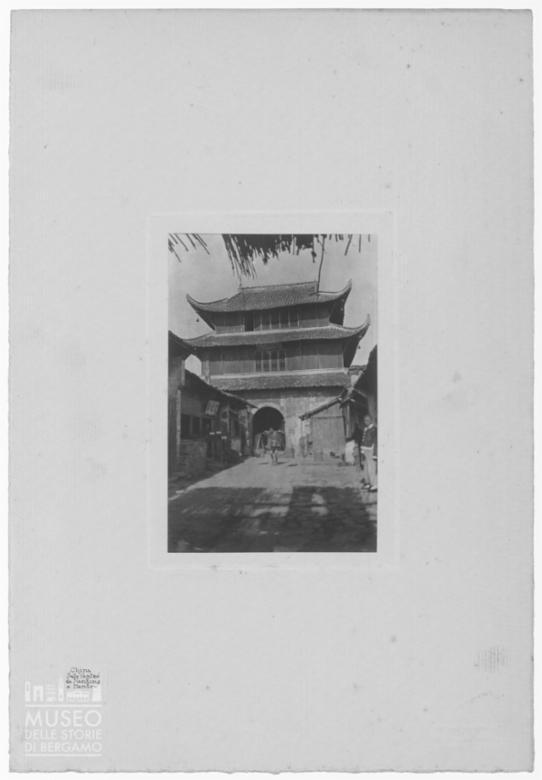 Abitazione a pagoda in Cina
