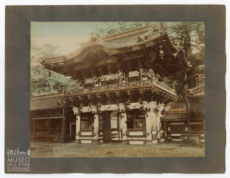 Yomei Mon Gate (Porta del Sole) porta di ingresso al santuario shintoista Tōshō-gū a Nikko