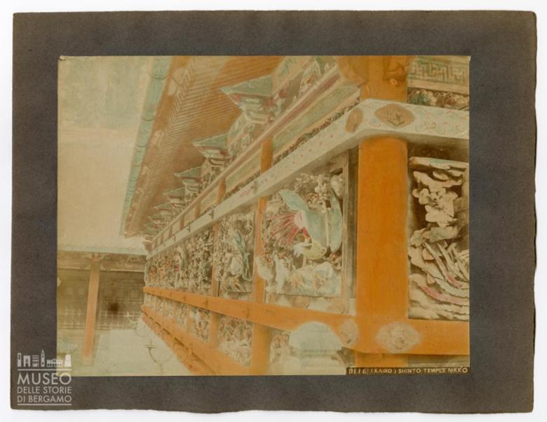 Facciata di un tempio shintoista di Nikko