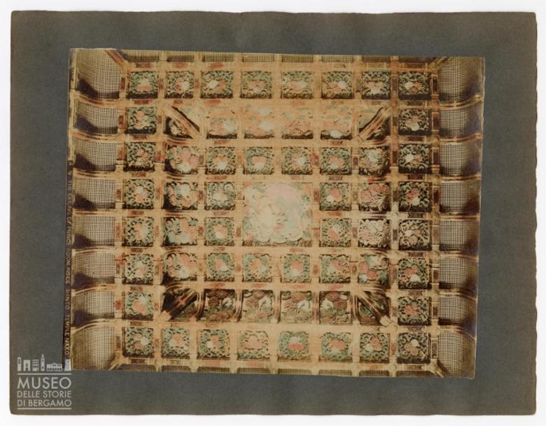 Soffitto della stanza del principe nel tempio Shinto a Nikko