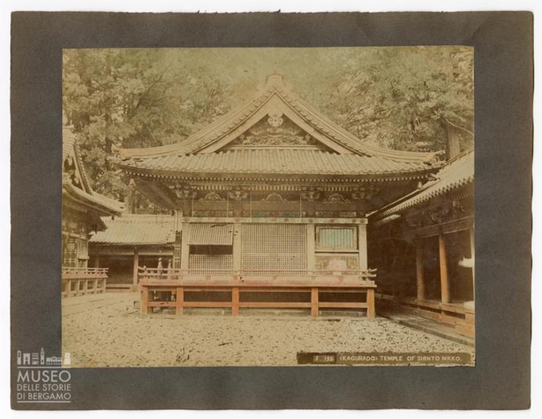 Facciata di un tempio Shinto, Nikko