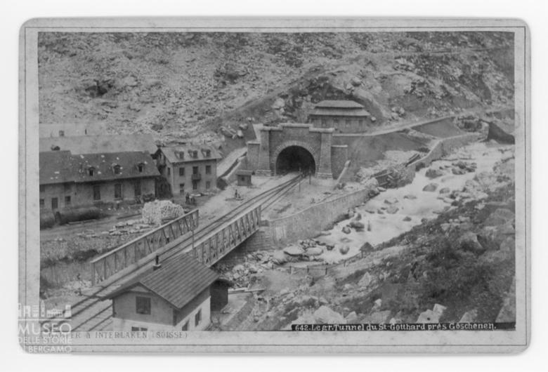 Veduta del tunnel del San Gottardo