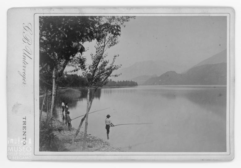 Pescatori sul Lago di Caldonazzo