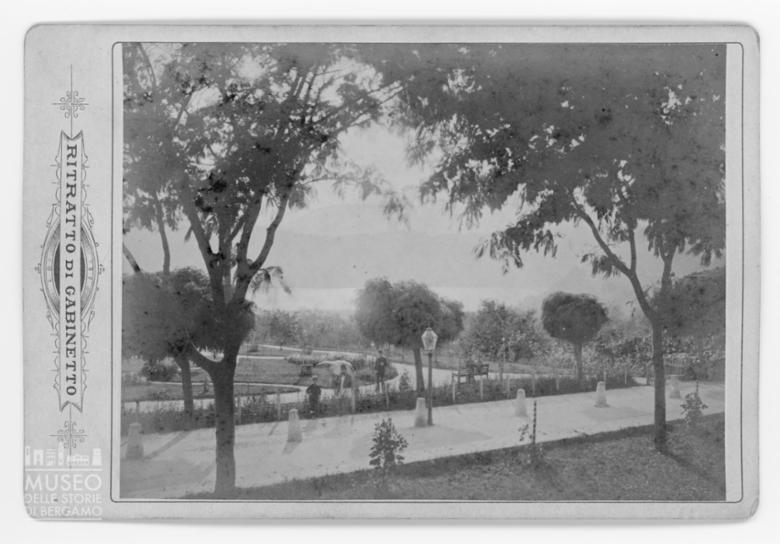 Veduta dello Stabilimento Bagni, Levico Terme