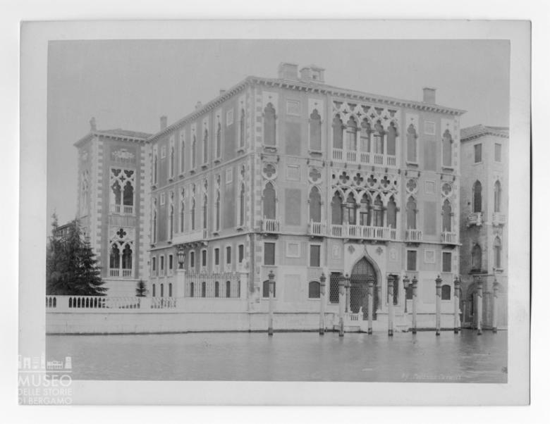Veduta di palazzo Cavalli-Franchetti (Venezia)