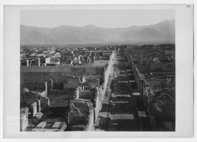 Panorama del Parco Archeologico di Pompei