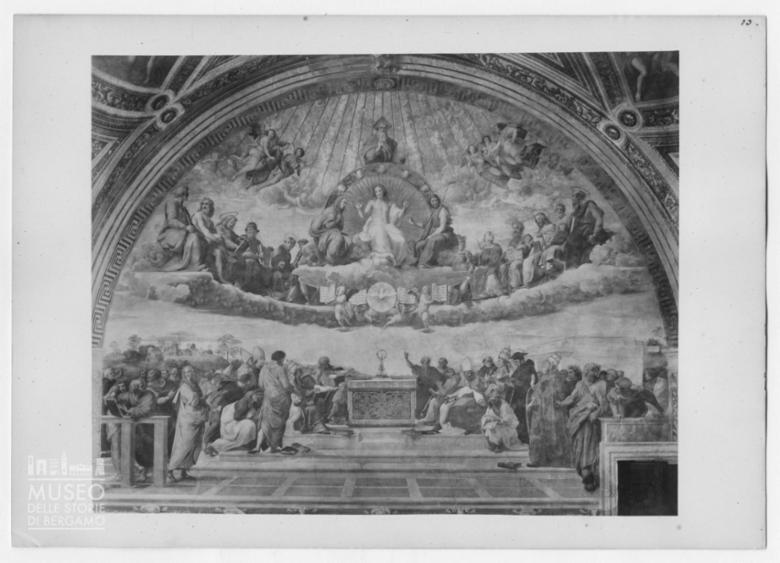 Disputa del SS. Sacramento di Raffaello Sanzio