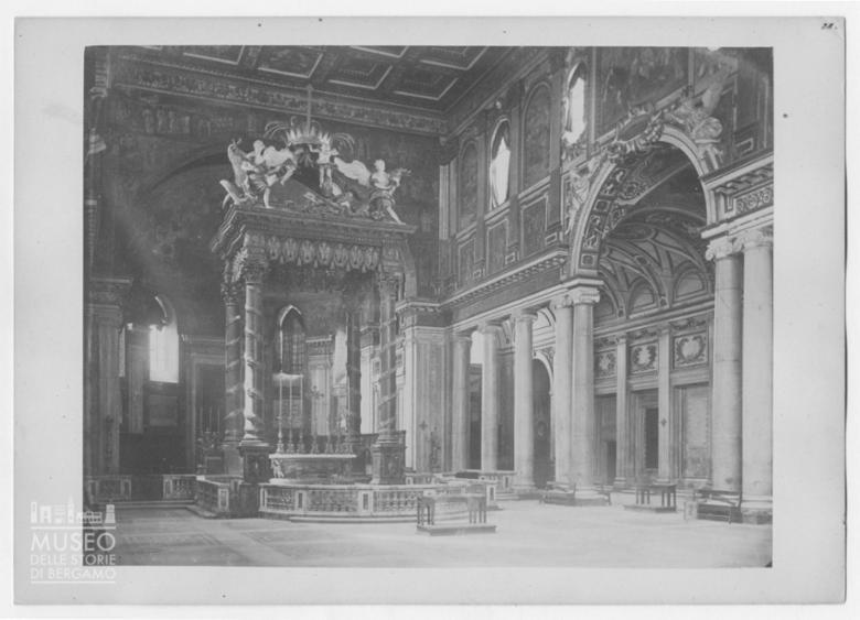 Interno della Basilica di Santa Maria Maggiore a Roma