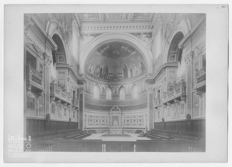 Interno della Basilica di San Giovanni in Laterano a Roma