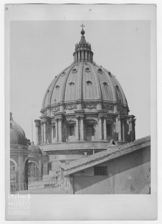 Esterno della Cupola della Basilica di San Pietro a Città del Vaticano