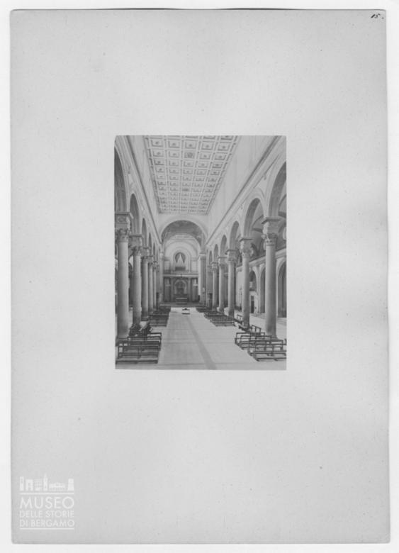 Interno della Basilica di San Lorenzo a Firenze