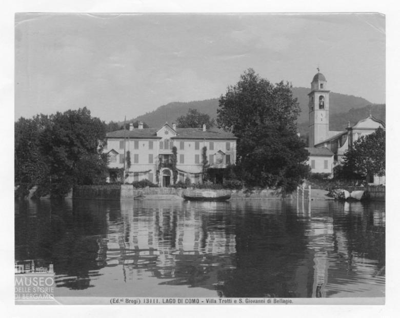 Villa Trotti e San Giovanni di Bellagio sul Lago di Como