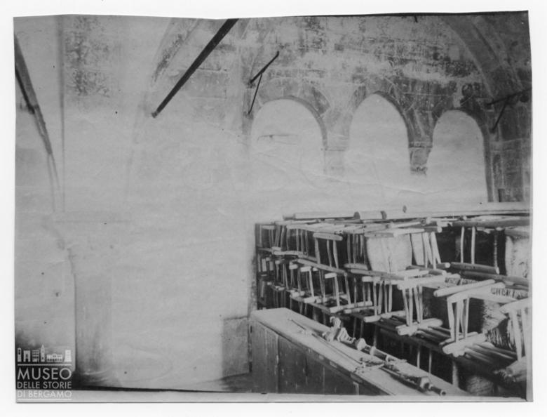 Sala interna di edificio antico