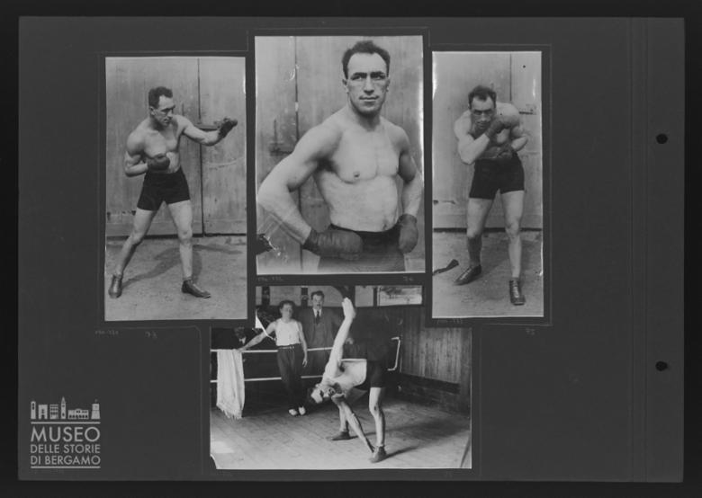 Bruno Frattini in allenamento